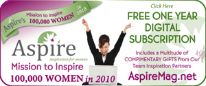 Aspire Magazine's - Mission To Inspire